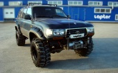 Расширители арок Lapter на TOYOTA LAND CRUISER 80 ( ширина 130 мм )